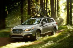 2015-Subaru-Outback-through-forest