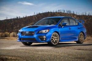 2015-Subaru-WRX-STI-front-three-quarters